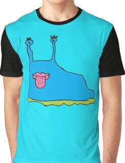 CLARENCE THE SLUG Graphic T-Shirt