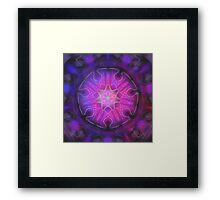 Space Mandala Framed Print
