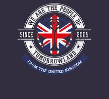 People of Tomorrowland Flags logo Badge - UK - Union Jack  - great britain - royaume uni Unisex T-Shirt
