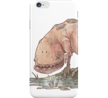 Guar and a coda flower iPhone Case/Skin