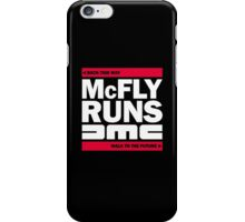 McFly Runs DMC - Back This Way, Walk to the Future iPhone Case/Skin