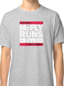 McFly Runs DMC - Back This Way, Walk to the Future Classic T-Shirt