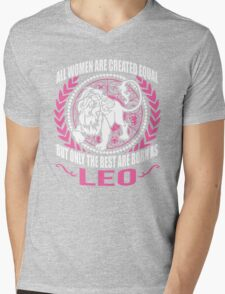 LEO Mens V-Neck T-Shirt