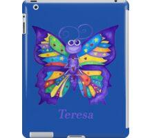 A Yoga Butterfly for Teresa iPad Case/Skin