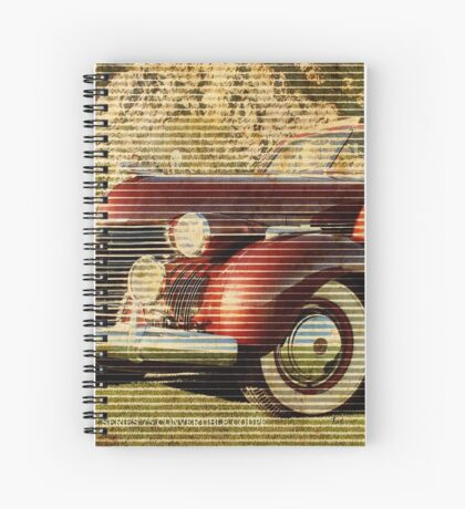 1940 CADILLAC SERIES 75 Spiral Notebook