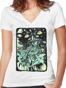 Penta Shaman Women's Fitted V-Neck T-Shirt