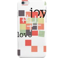 A Crossword Puzzle - Life's To Do's and To Have's iPhone Case/Skin