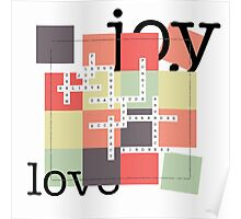 A Crossword Puzzle - Life's To Do's and To Have's Poster
