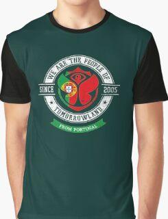 People of Tomorrowland Flags logo Badge - Portugal - Portuguese - português Graphic T-Shirt