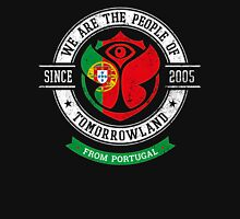 People of Tomorrowland Flags logo Badge - Portugal - Portuguese - português Unisex T-Shirt