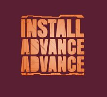 Install, Advance, Advance Unisex T-Shirt