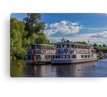 Showboats Canvas Print