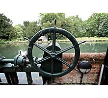 Green Wheel Photographic Print