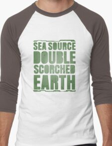 Sea Source, Double Scorched Earth Men's Baseball ¾ T-Shirt
