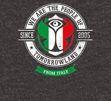 People of Tomorrowland Flags logo Badge - Italian - Italia - italiano Unisex T-Shirt