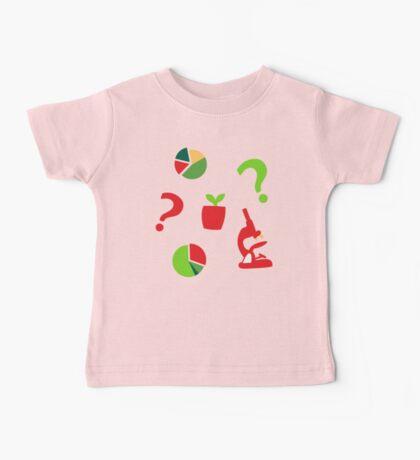 Science is fun Pattern Baby Tee