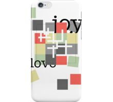 A Crossword Puzzle - Life's To Do's and To Have's - No Answers iPhone Case/Skin