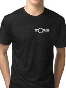 Zorg Industries - Small logo version (The Fifth Element) Tri-blend T-Shirt