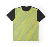 Yellow and green lines - design by Moma Graphic T-Shirt