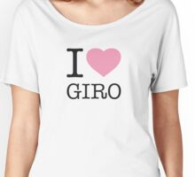 I ♥ GIRO Women's Relaxed Fit T-Shirt