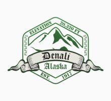 Denali National Park, Alaska Kids Tee