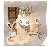 Chocolate And Bunny Dreams Poster