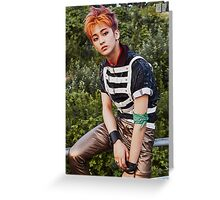 NCT mark Greeting Card