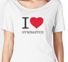 I ♥ GYMNASTICS Women's Relaxed Fit T-Shirt
