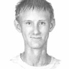 teenage boy pencil portrait by Mike Theuer