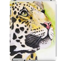 Ocelot Watercolor Painting iPad Case/Skin