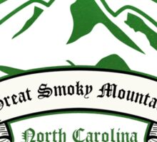 Great Smoky Mountains National Park, Tennessee Sticker