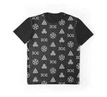 Wiccan Symbols Graphic T-Shirt