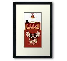 RING 666 Framed Print