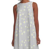 Daisy Daisies Fashion Floral Summer A-Line Dress