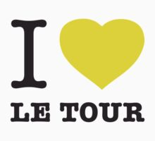 I ♥ LE TOUR One Piece - Short Sleeve