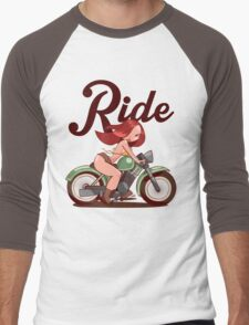 Ride Men's Baseball ¾ T-Shirt