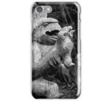 Wooden Dragon iPhone Case/Skin