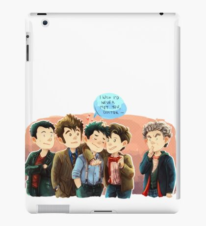 Doctor Who - Jack and the Doctors iPad Case/Skin