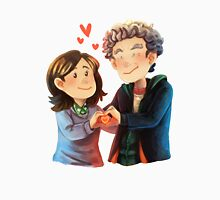 Doctor Who - Whouffaldi Heart Unisex T-Shirt