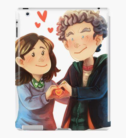 Doctor Who - Whouffaldi Heart iPad Case/Skin
