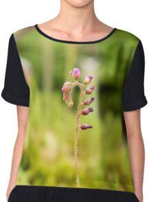 Stem Flower Chiffon Top