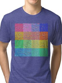 Deep Dreaming of a Color World Tri-blend T-Shirt
