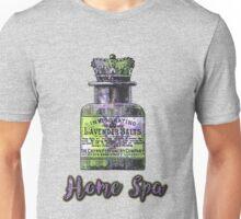 Lavender Bath Salts Old Book Page Vintage Illustration Unisex T-Shirt
