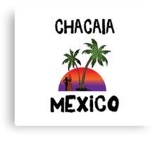 Chacala Mexico Canvas Print