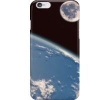 Earth and Moon iPhone Case/Skin