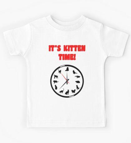 It's Kitten Time! Kids Tee