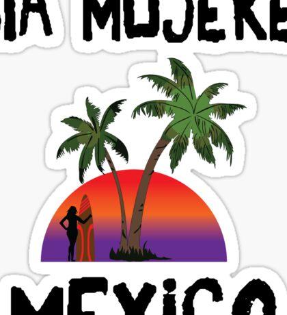 Isla Mujeres Mexico Sticker