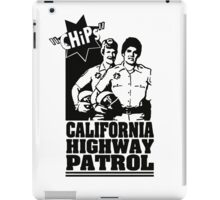 CHIPS - TV SERIES - JON / FRANK iPad Case/Skin
