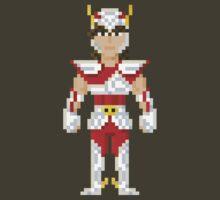 Seiya - Saint Seiya Pixel Art by Gwendal