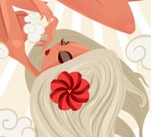 Birth of a Goddess Sticker